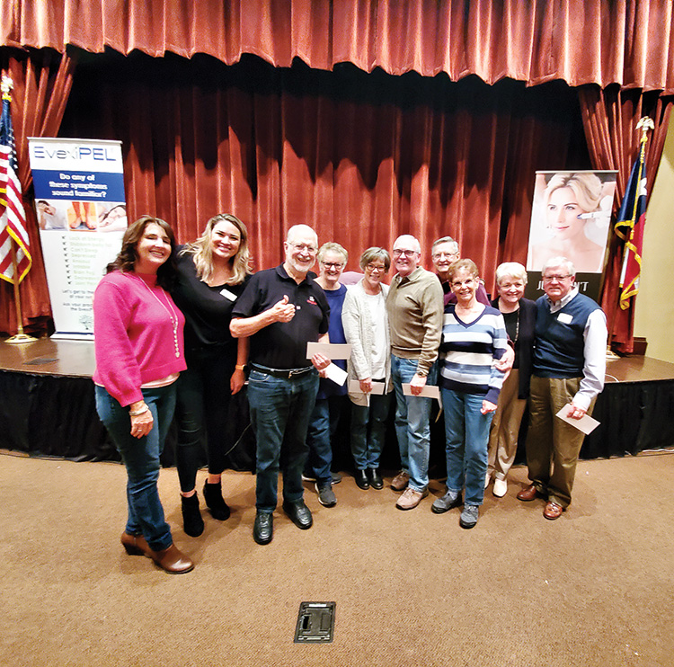 1st Place: Beverly and Rudy Almaguer; Tim and Sue Dotson; Jeff and Lisa Davis; Carolyn Thomas; Paul Manske