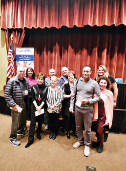 2nd Place: Judy and Miguel Ondina; Peggy Crandell; Don Duff; Nancy and Ken Rogus; Mary Ann and Steve Johnson