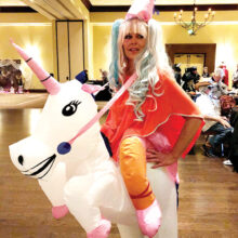 Overall best costume – Shari McCrystal
