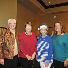 2020 RRWGA Executive Board Members: Althea Parent, Darlene Lamb, Maureen Sullivan, and Marlene Womack as proxy for Lucy Oberholser