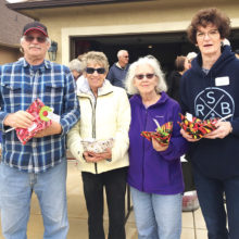 Left to right: Dan Sanchez, Bonnie Althoff, ML Fay and Tammy Thomas