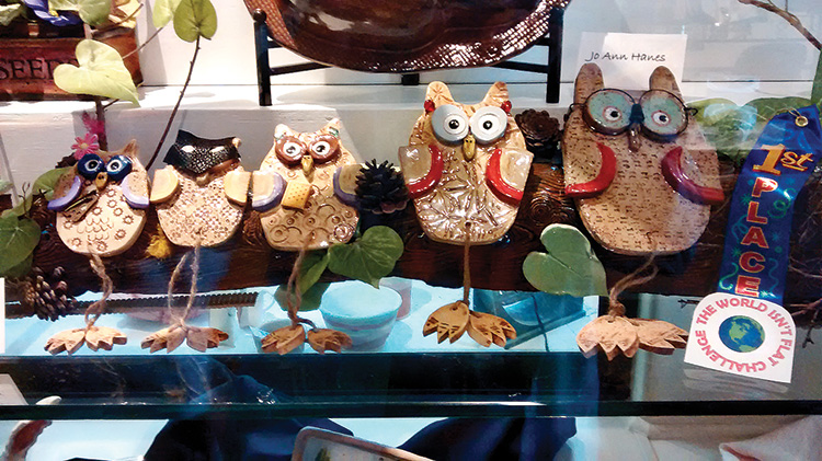 Nancy Lussier's owls