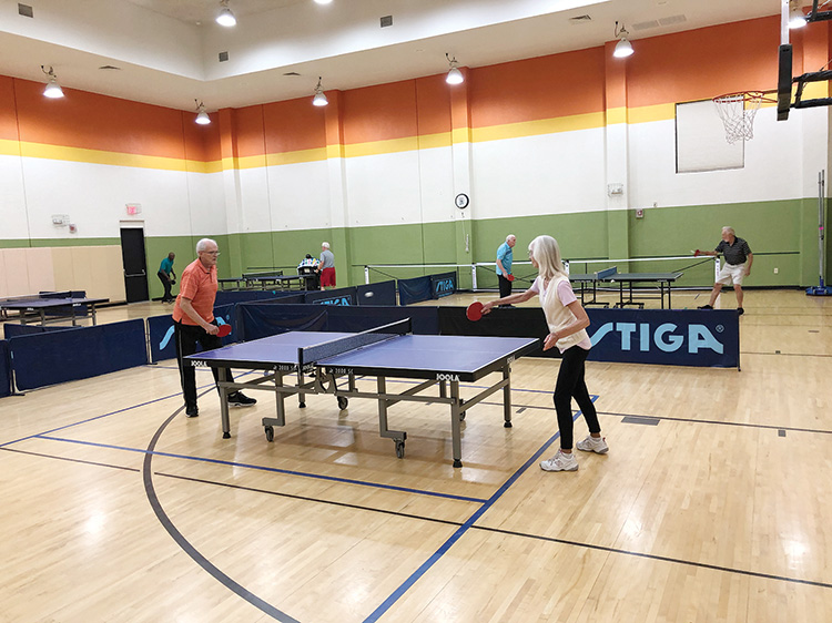 Table Tennis phase one reopening