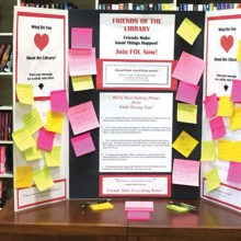 "Remember last June when we could write ""love notes"" in the library?"