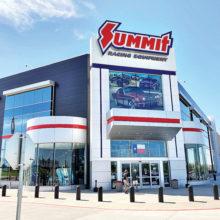Summit Racing Showroom in Arlington, Texas