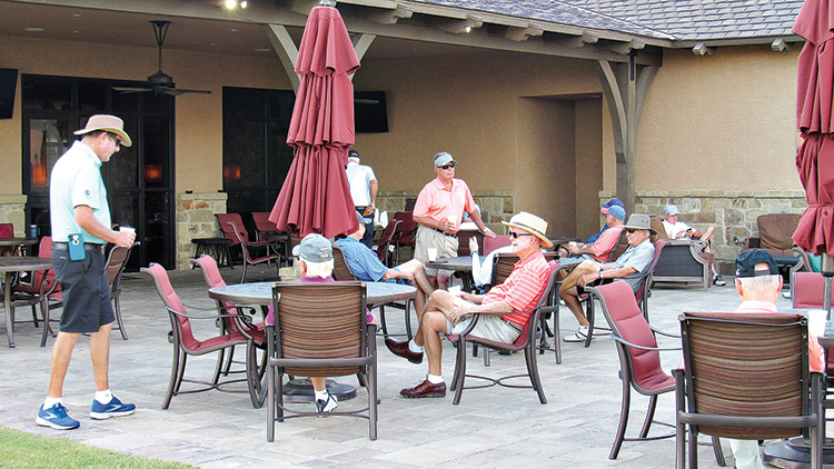 RRMGA members practicing social distancing at a recent play day event.