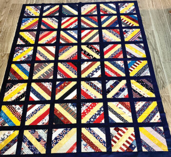 American Hero quilts made by the Material Girls