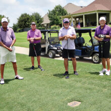 Tournament participants from the Robson Ranch Men's Golf Association