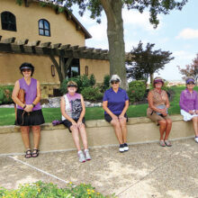 Tournament participants from the Robson Ranch Women's Golf Association
