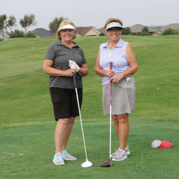 Linda Brewer and Donna Slater, Fourth Flight winners