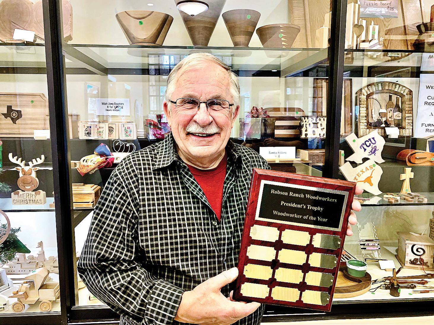 Woodworker of the Year Loren Christensen