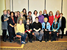 The 2020 Robson Ranch Women's Club Board