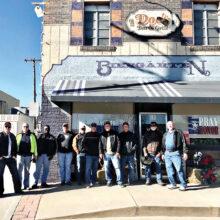 The gang at Doc's