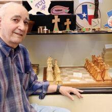 Ross' chess set