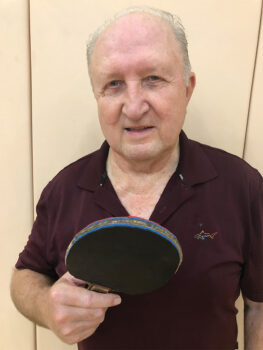 Tom Taylor, certified table tennis instructor