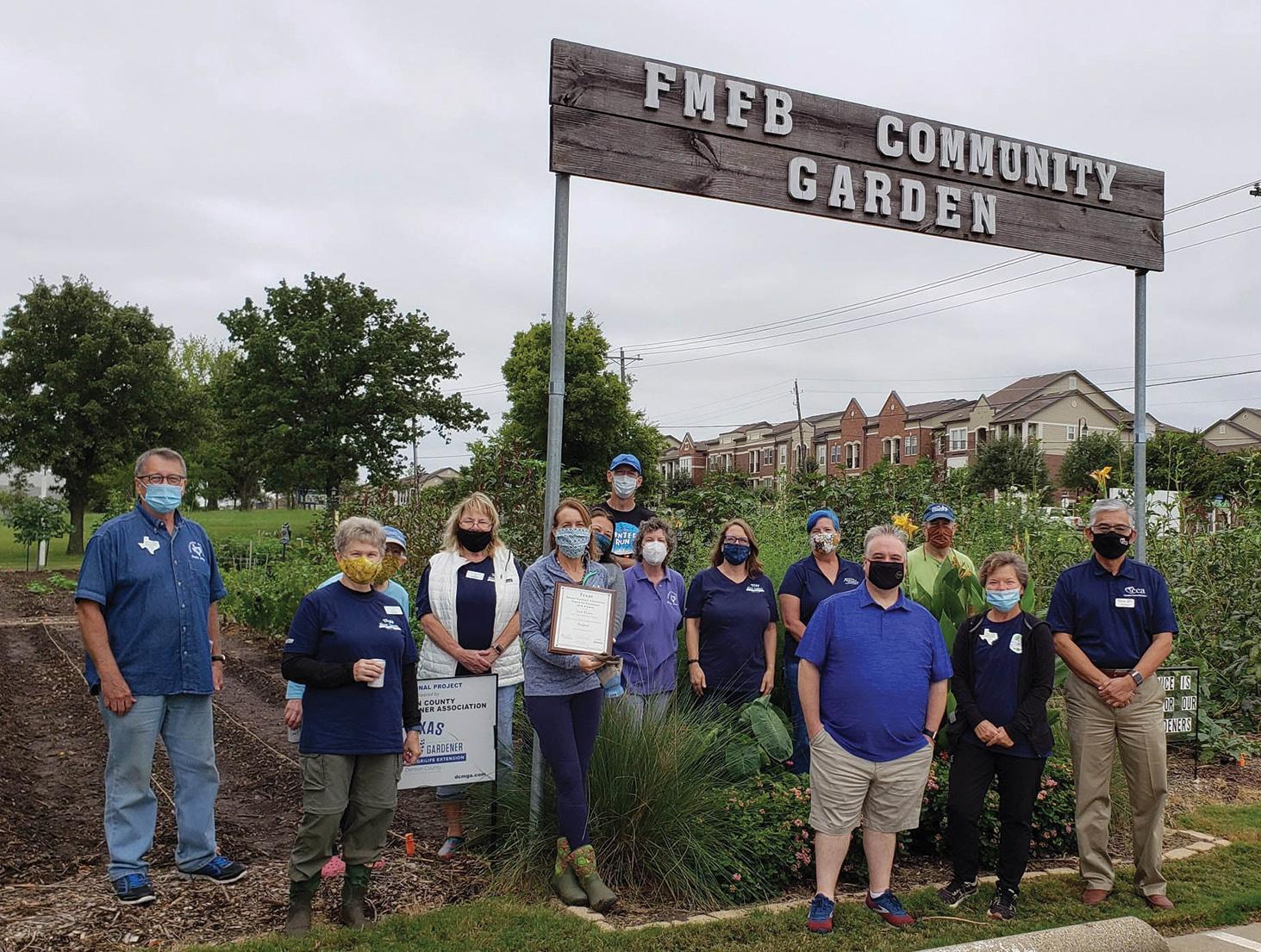 Photo by David Huffman, Denton County Master Gardener Association
