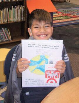 Saul, Borman Elementary $10 Target winner
