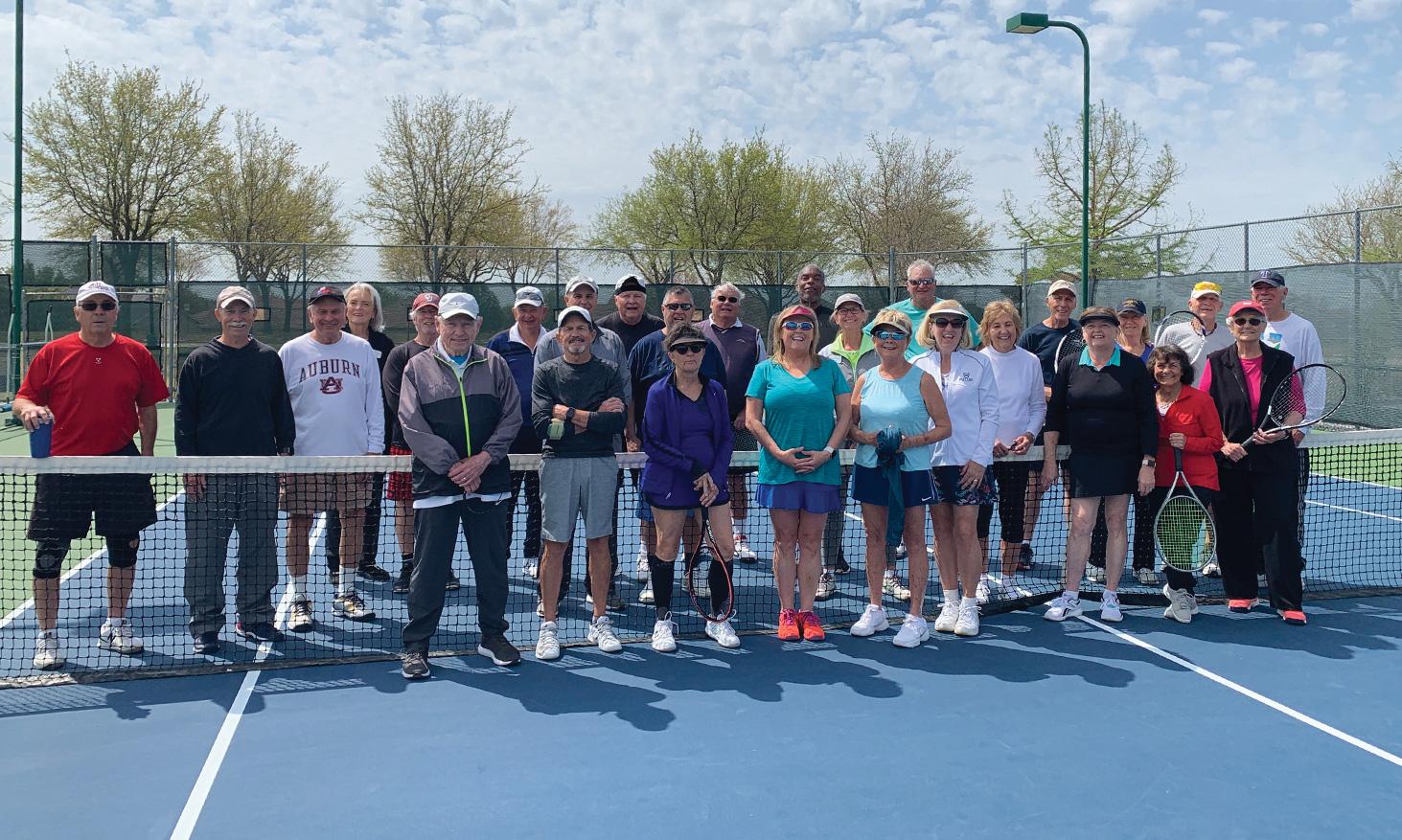 Seriously fun Sundaes on Saturday Tennis Tournament