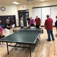 Table Tennis class starts